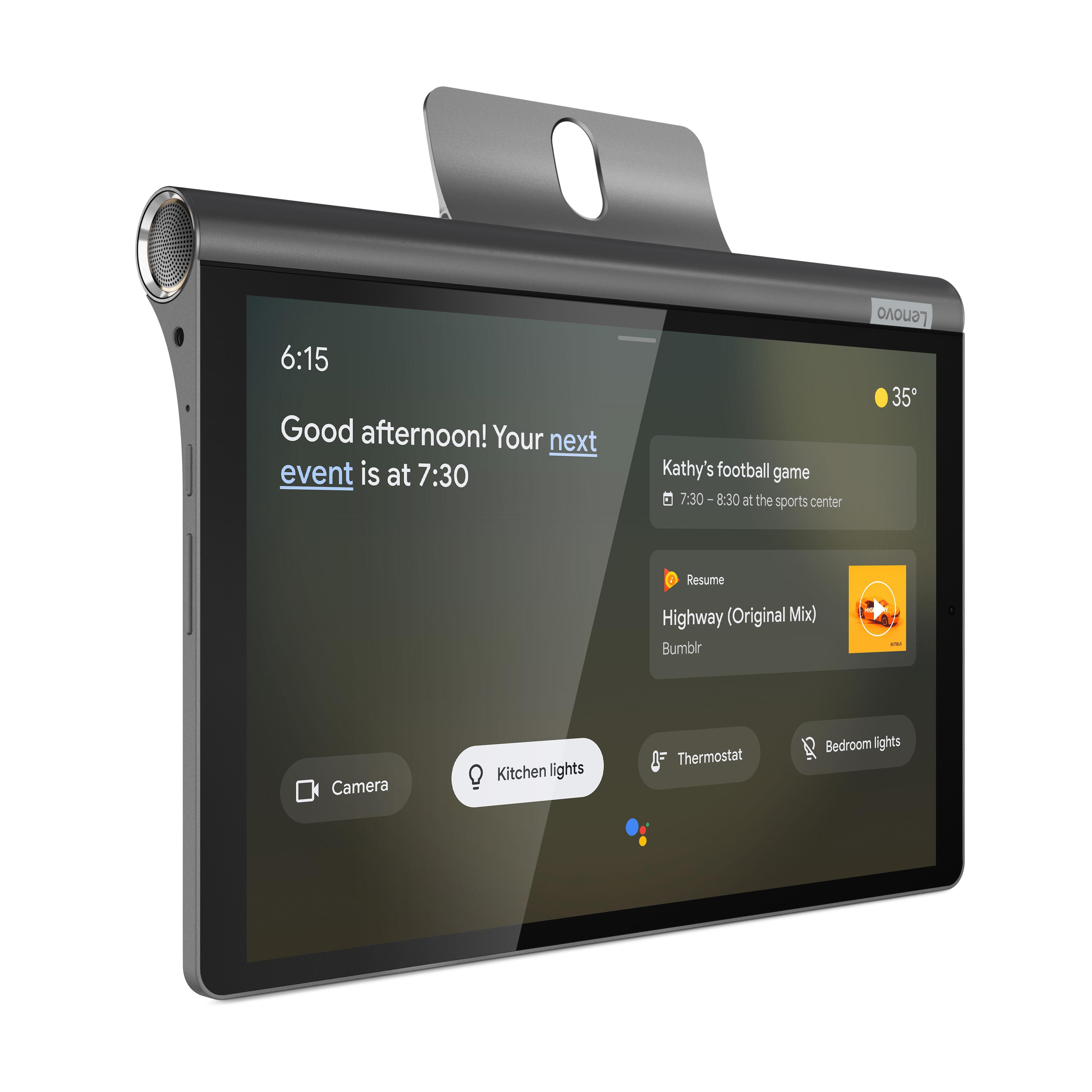 جديد لينوفو اليوغا الذكية تبويب الزوجي باعتباره Google Assistant عرض ذكي 2