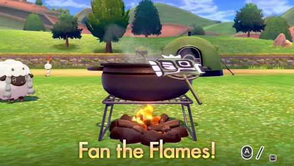 بوكيمون السيف وشيلد لديه أربعة لاعبين الكاري التعاونية الطبخ 1