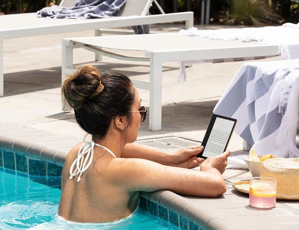 Kindle  واحة الدافئة الخفيفة القارئ الإلكتروني