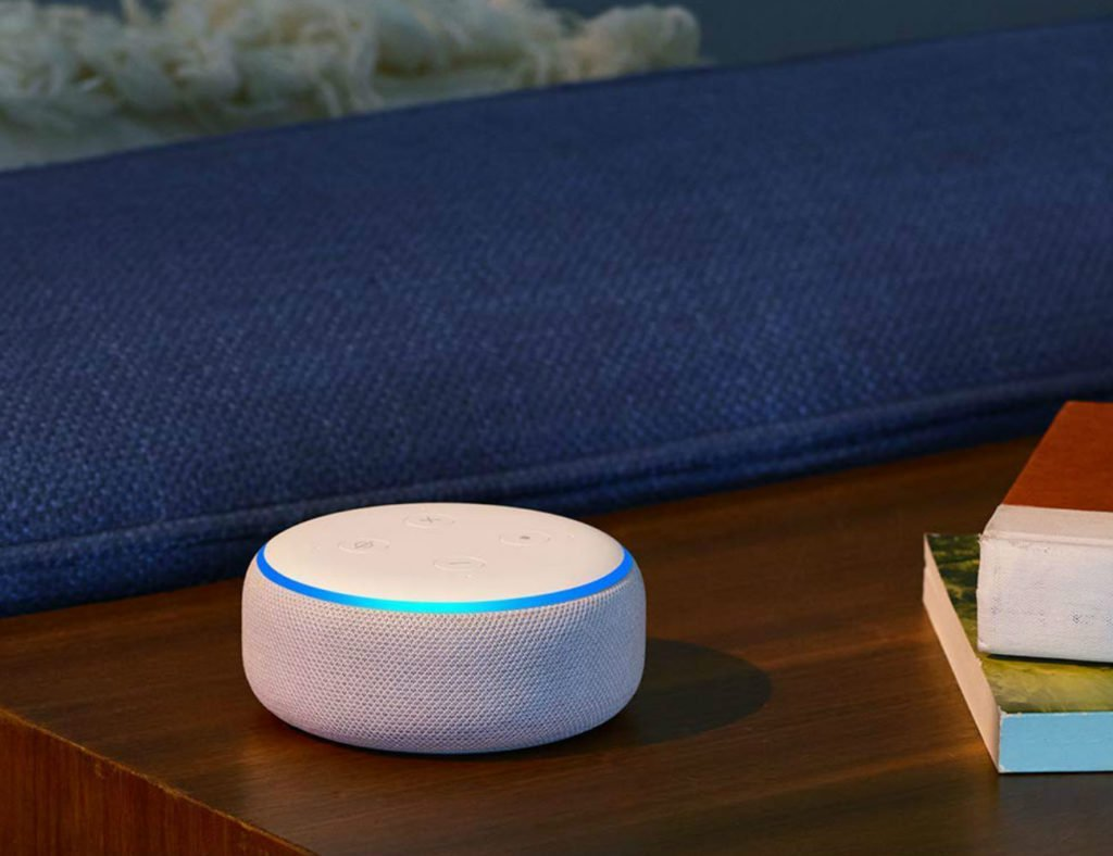"Amazon  السماعة الذكية Echo Dot (3rd Gen) ""aria-ووصفها ="" gallery-10-365079"