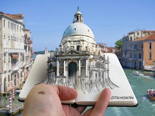 هذا الفنان المذهل يغير وجهة نظرك للعالم من خلال الرسومات الرائعة 2
