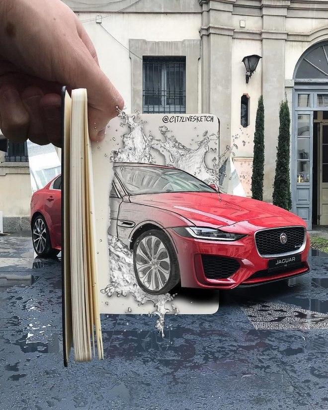 هذا الفنان المذهل يغير وجهة نظرك للعالم من خلال الرسومات الرائعة 6