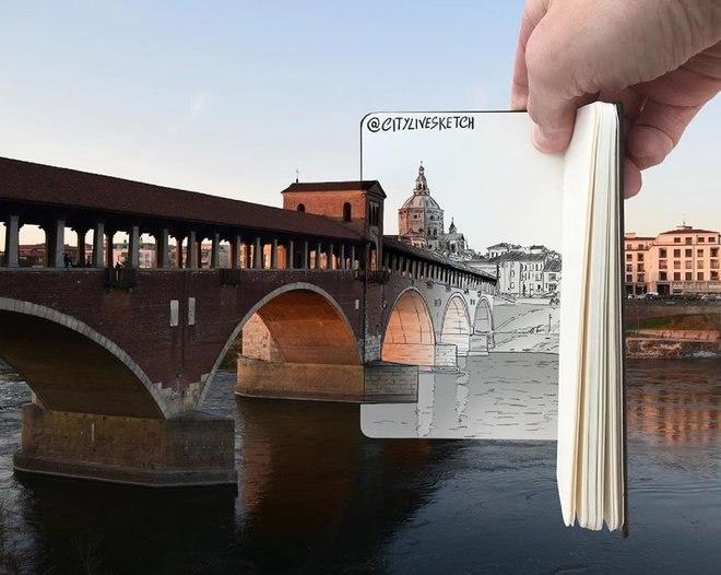 هذا الفنان المذهل يغير وجهة نظرك للعالم من خلال الرسومات الرائعة 7