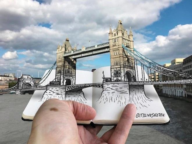 هذا الفنان المذهل يغير وجهة نظرك للعالم من خلال الرسومات الرائعة 14