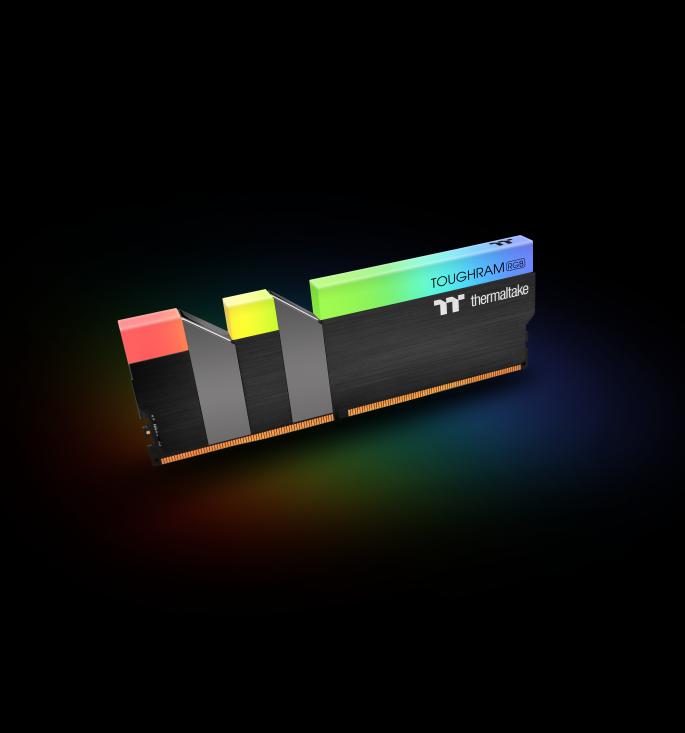 ثرمالتاكي تطلق ذكريات TOUGHRAM RGB DDR4 3600MHz | 3200 ميجا هرتز | 3000 ميجا هرتز 16 جيجابايت 4