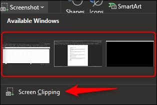 أدوات لقطة الشاشة
