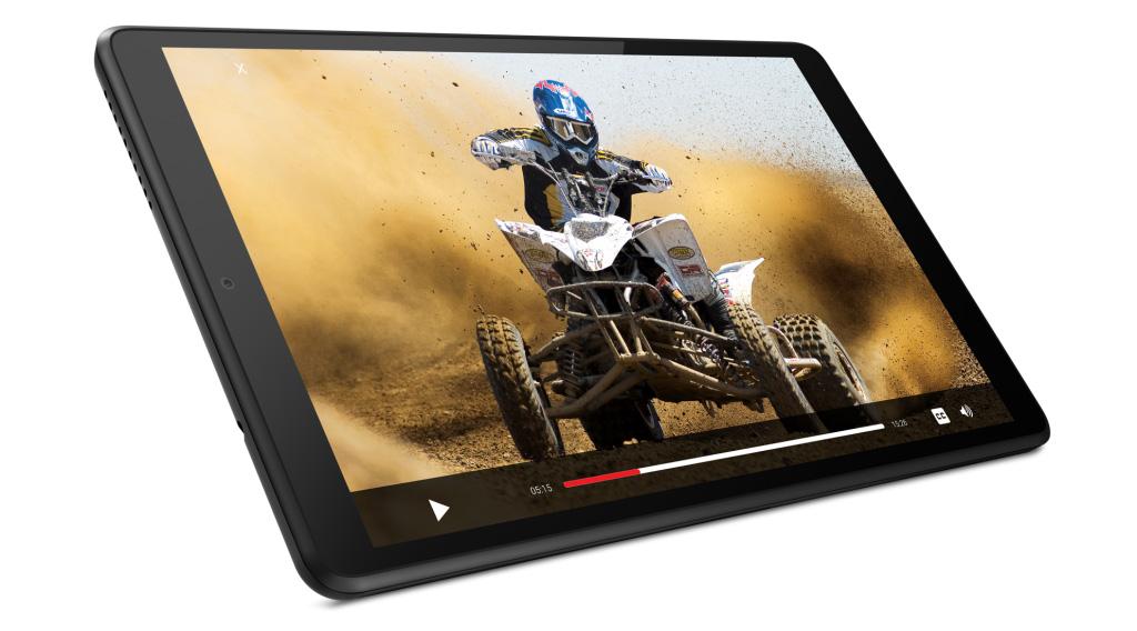 بفضل شاشة IPS الخاصة به ، يوفر Lenovo Tab M8 الجديد تجربة وسائط متعددة رائعة