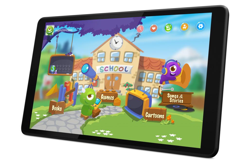 لينوفو تاب M8 مثالي للاستخدام من قبل الأطفال