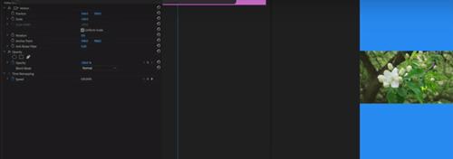 كيفية اقتصاص أشرطة الفيديو للعرض العمودي في Adobe Premiere 4