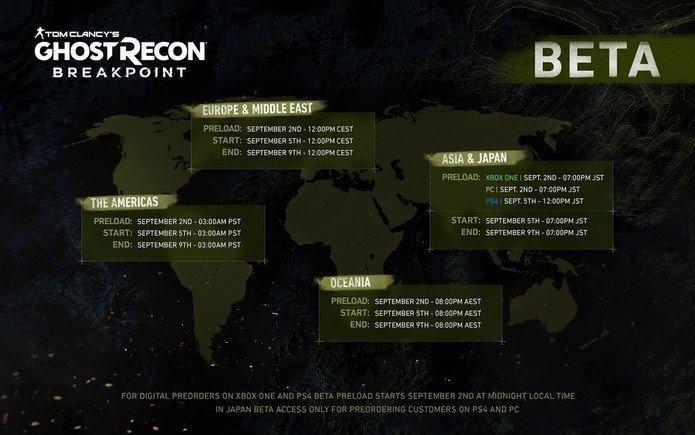نقول لك الانطباعات الأولى من الإصدار التجريبي Ghost Recon Breakpoint 1