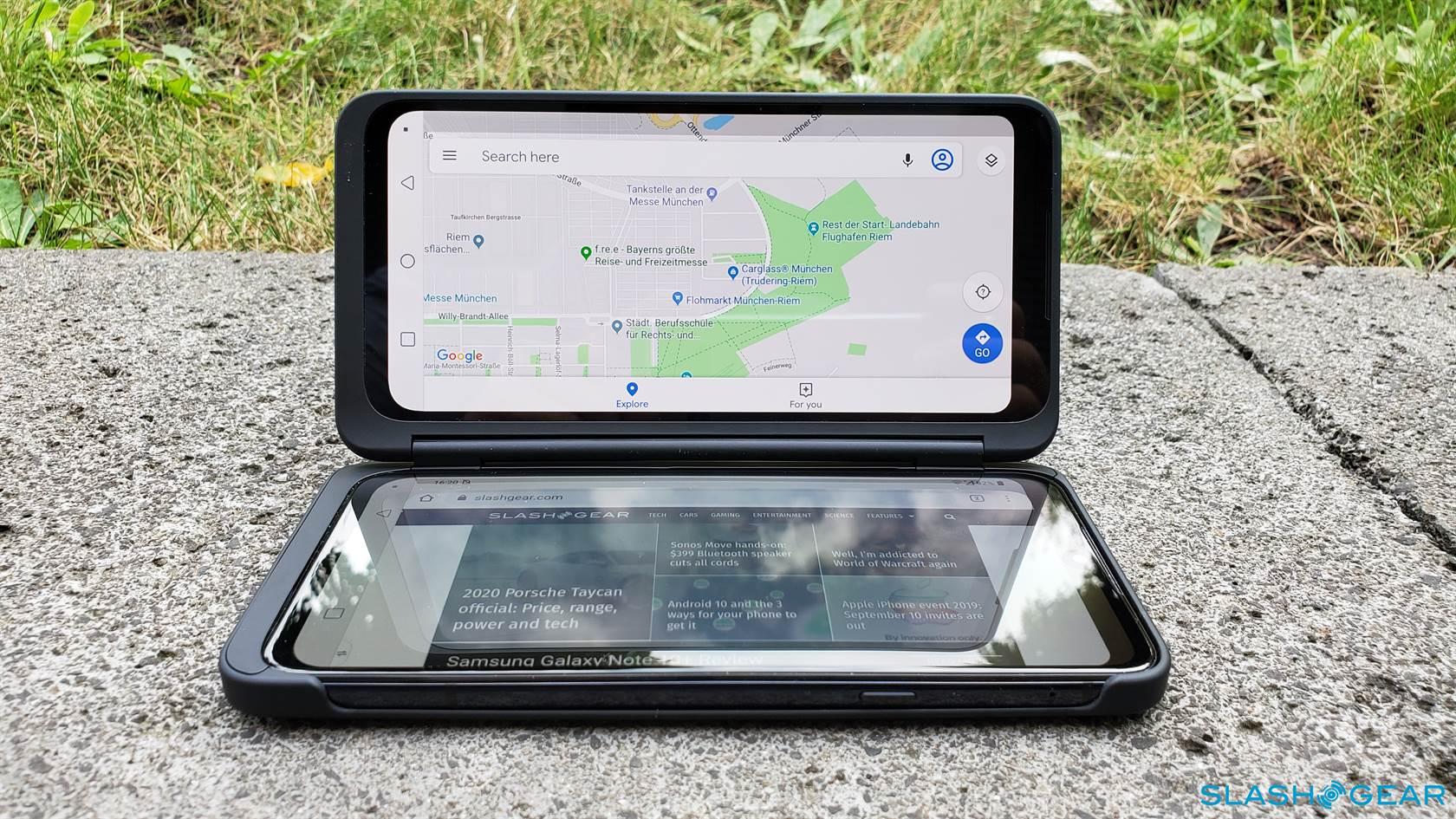 يجلب LG G8X ThinQ شاشة مزدوجة محسنة ومهام متعددة أكثر ذكاءً 2