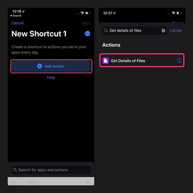 كيفية العثور بسهولة على حجم الملفات في iPhone و iPad 1