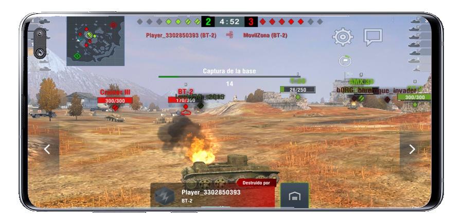 دبابة دمرت في عالم الدبابات الغارة MMO