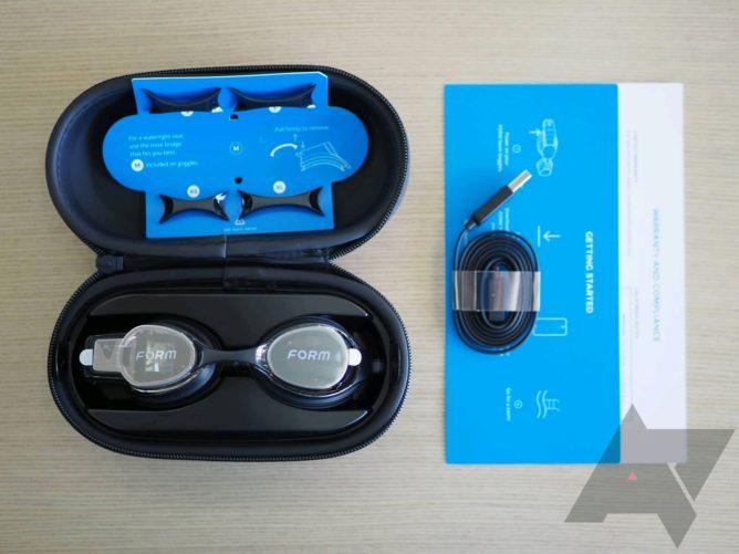 مراجعة نموذج نظارات AR: تعقب السباحة أروع وأكثر دقة حاولت من أي وقت مضى 6