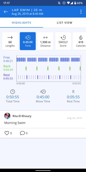 مراجعة نموذج نظارات AR: تعقب السباحة أروع وأكثر دقة حاولت من أي وقت مضى 11