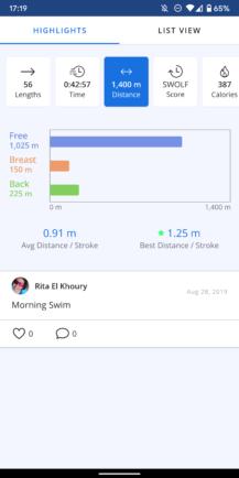 مراجعة نموذج نظارات AR: تعقب السباحة أروع وأكثر دقة حاولت من أي وقت مضى 20