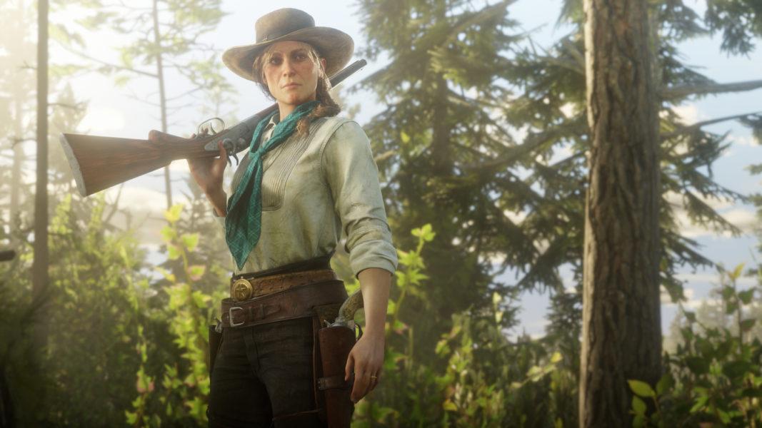Red Dead Redemption 2 IWD - Sadie Adler