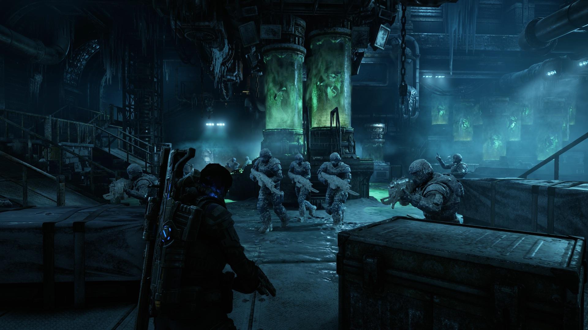 من أين جاء الجراد؟ تسلط Gears 5 ضوءًا جديدًا على تاريخ الجراد والسرب 3