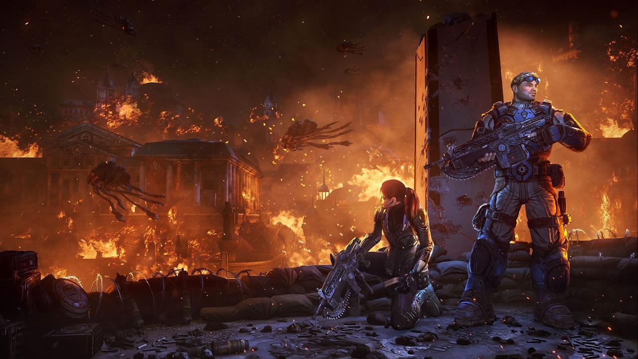 من أين جاء الجراد؟ تسلط Gears 5 ضوءًا جديدًا على تاريخ الجراد والسرب 1