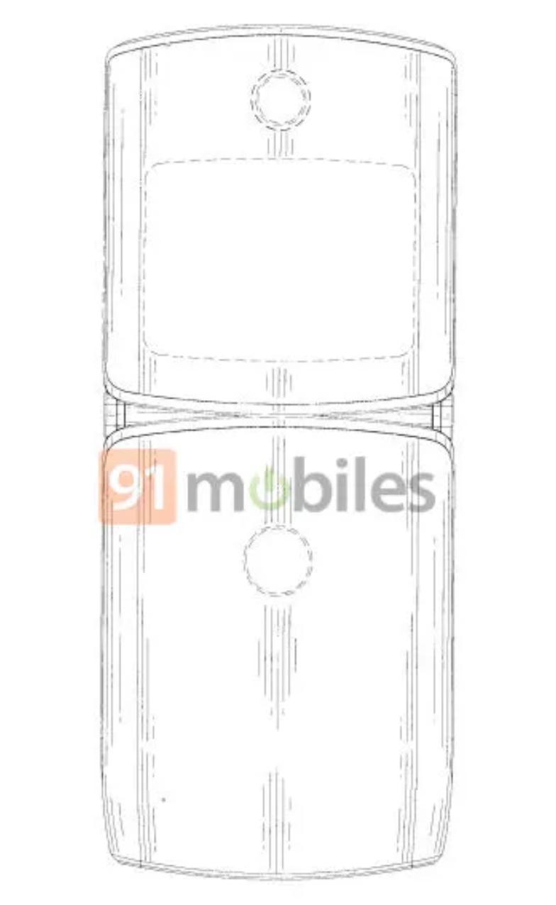 يسمح لك تطبيق براءة الاختراع بمشاهدة بعض الرسومات الخاصة بموتورولا رازر 2019 3