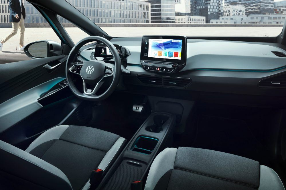 VW ID 3 نطاق البطارية
