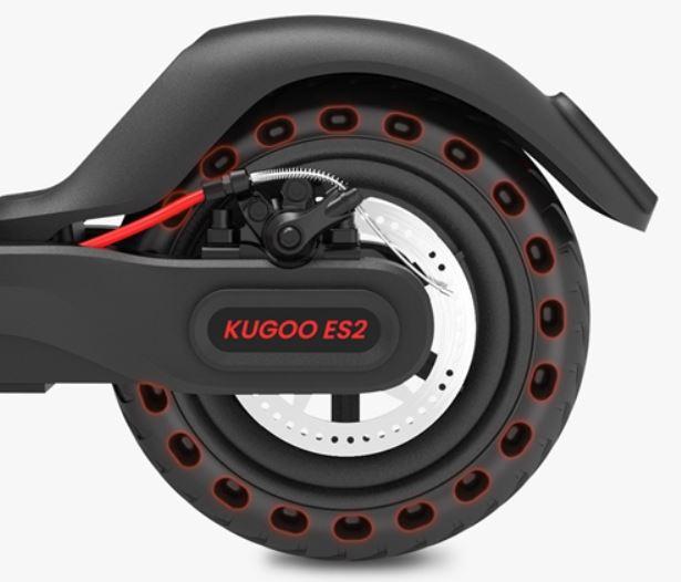 KUGOO ES2: أعيد تصميم نموذج السكوتر الجديد والفرامل الميكانيكية! 2