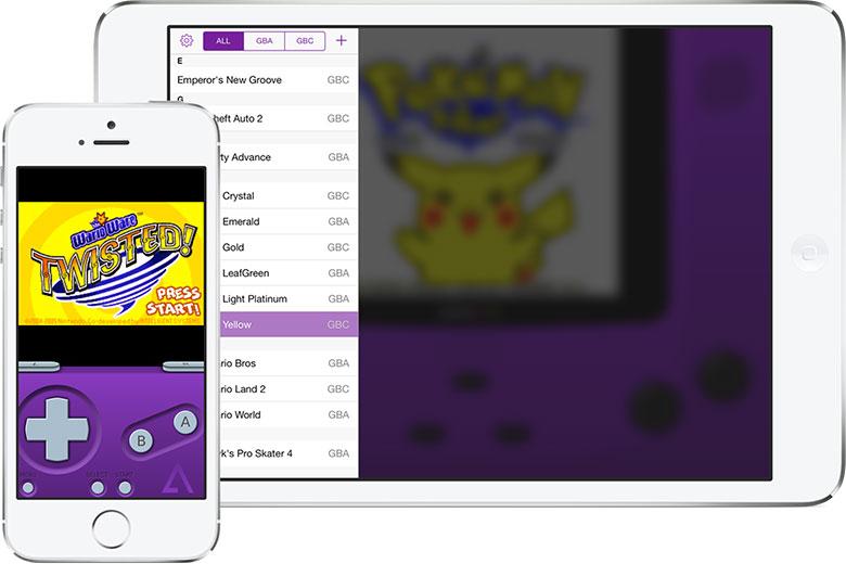 عاد GBA4iOS ، محاكي GBA لأجهزة iPhone و iPad 2