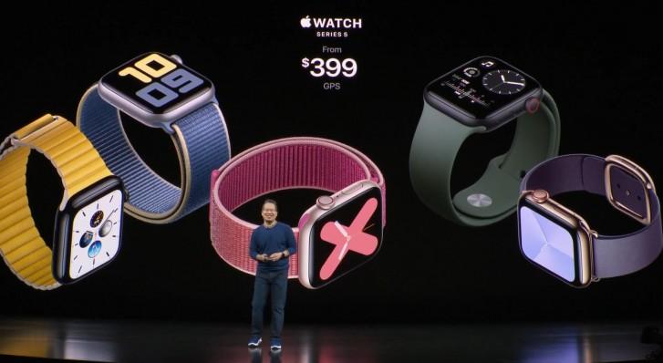 - ▷ Apple Watch السلسلة 5 رسمية ، الآن مع Always On و بوصلة »- 2