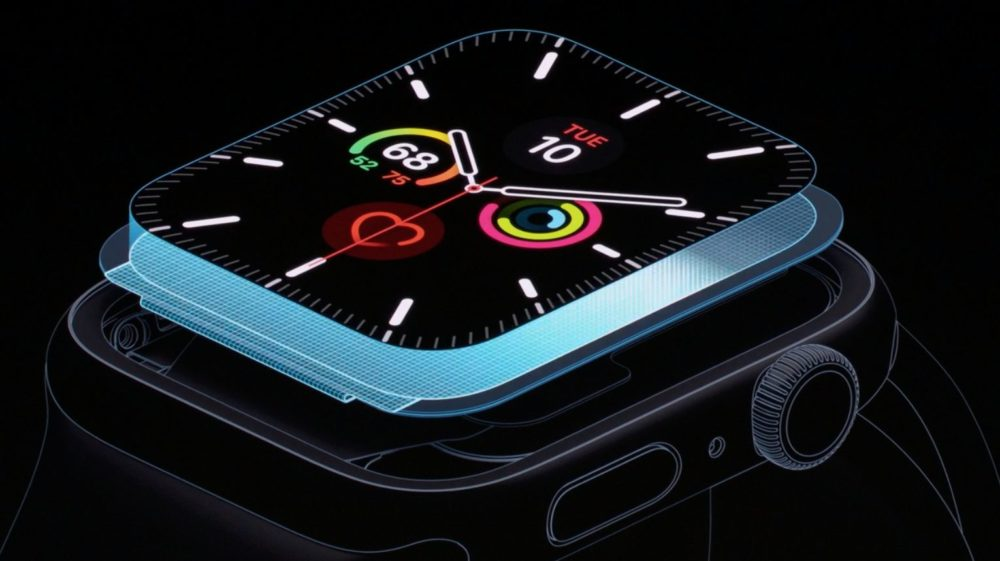 apple watch series 5 ltpo LApple Watch Series 5 donhe lheure en permanence!