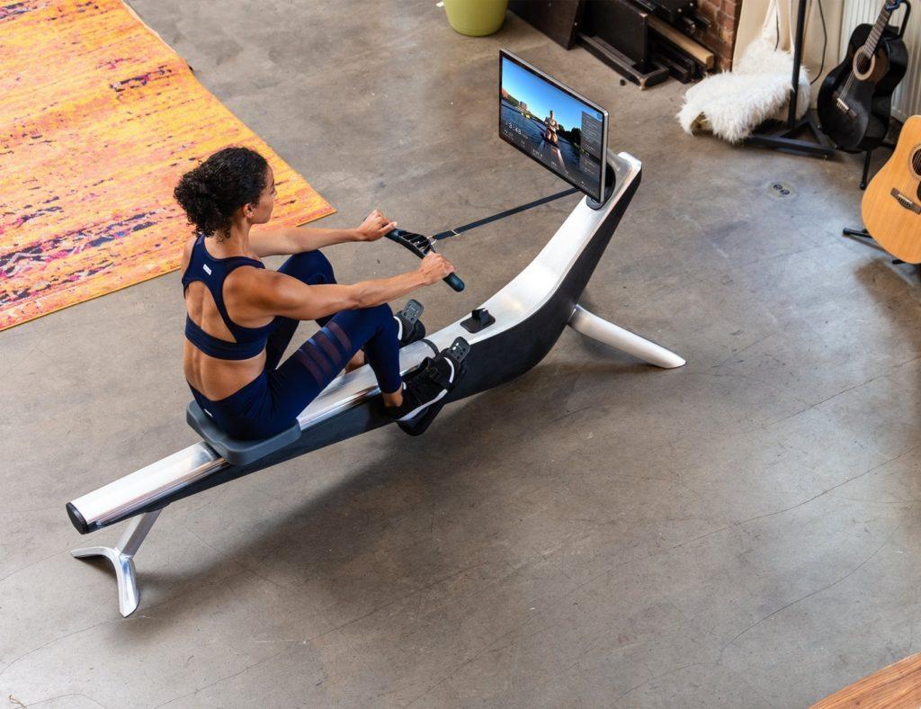 """جهاز تمرين داخلي يجعلك لائقًا وصحيًا - Hydrow 03 """"aria-ووصفby ="""" gallery-11-365889"""