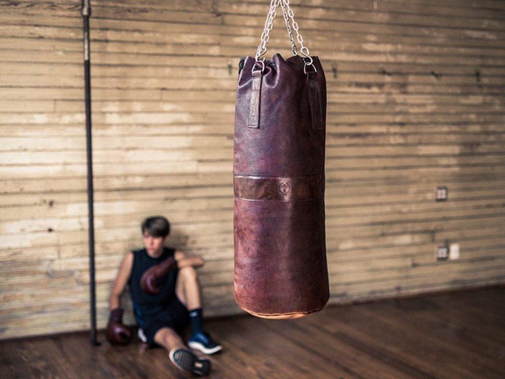 """معدات تمرين داخلي للحفاظ على لياقتك البدنية وصحية - MVP Heritage Leather 01 """"aria-ووصفby ="""" gallery-16-365872"""