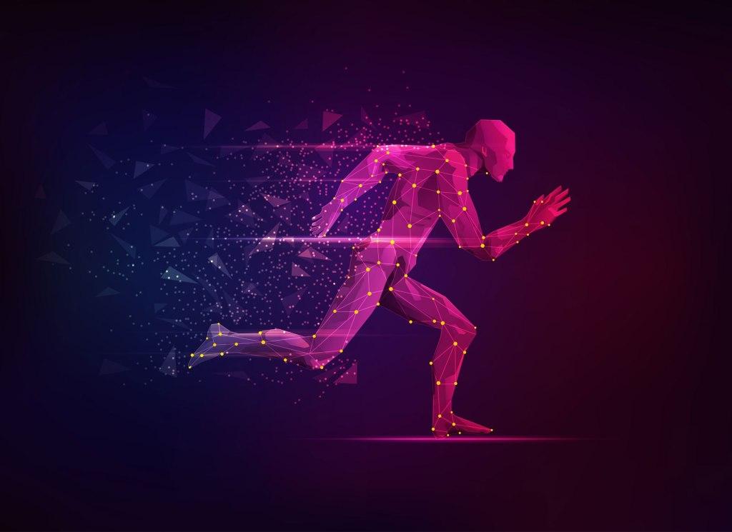 تتبع الرياضيين ثلاثي الأبعاد (3DAT) من Intel في أولمبياد طوكيو عام 2020.