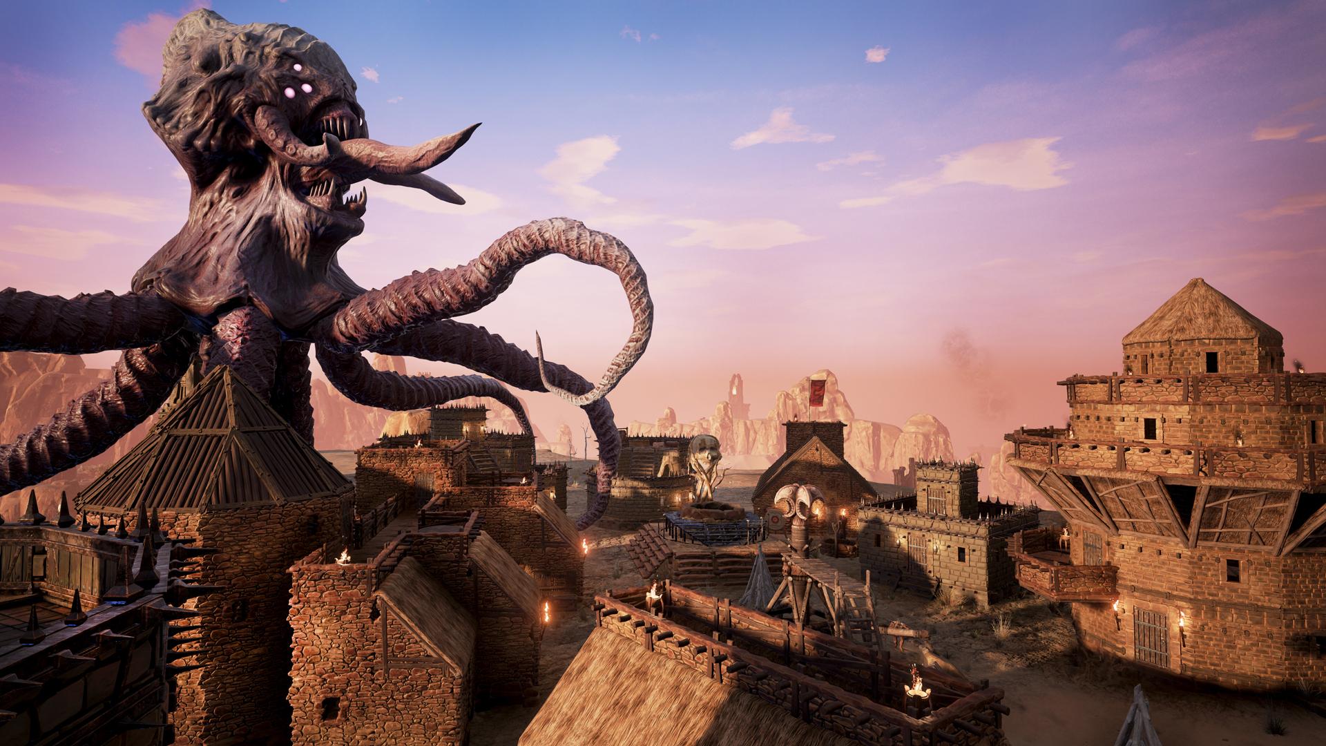 Conan Exiles God Avatar Attack