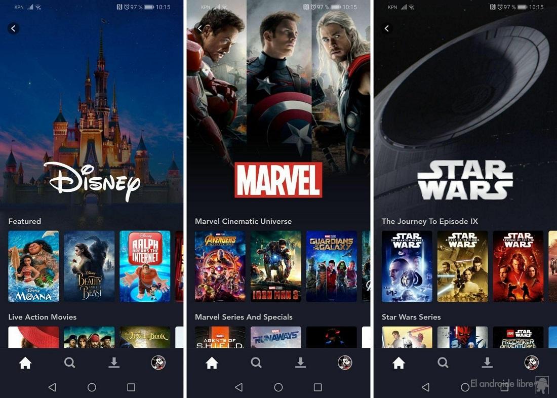 لقد اختبرنا Disney + على نظام Android: هذه خدمة البث المباشر من Disney 5