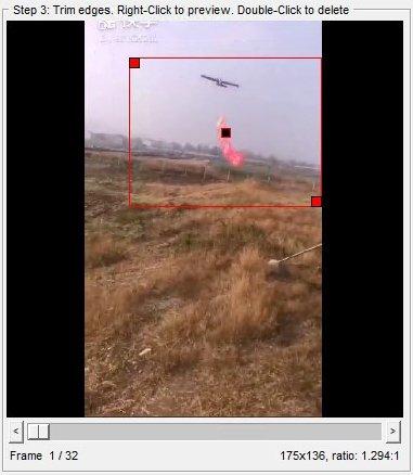 تقليم GIF باستخدام Instagiffer /