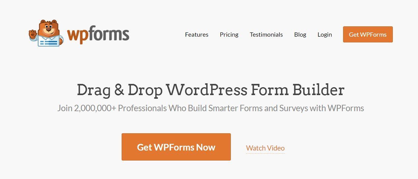 يتضمن WPForms أدوات لمساعدتك في إنشاء نماذج لتوليد العملاء المتوقعين