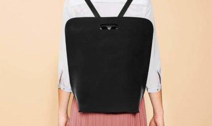 """حقيبة ظهر جلدية أساسية من سيمبل بي """"aria-ووصفها ="""" gallery-8-366196"""