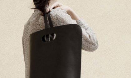 حقيبة ظهر جلدية أساسية من سيمبل بي