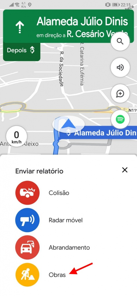 خرائط جوجل يعمل مستخدمي التقرير