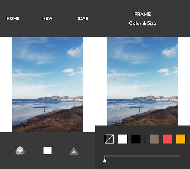 كيفية إضافة حدود بيضاء لصورة باستخدام Whitagram