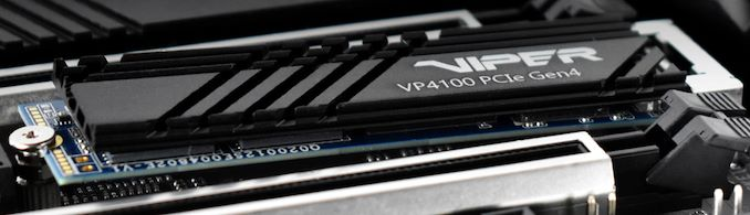 تطلق باتريوت محركات أقراص SSD Viper VP4100 PCIe Gen 4: حتى 5 جيجابايت / ثانية 1