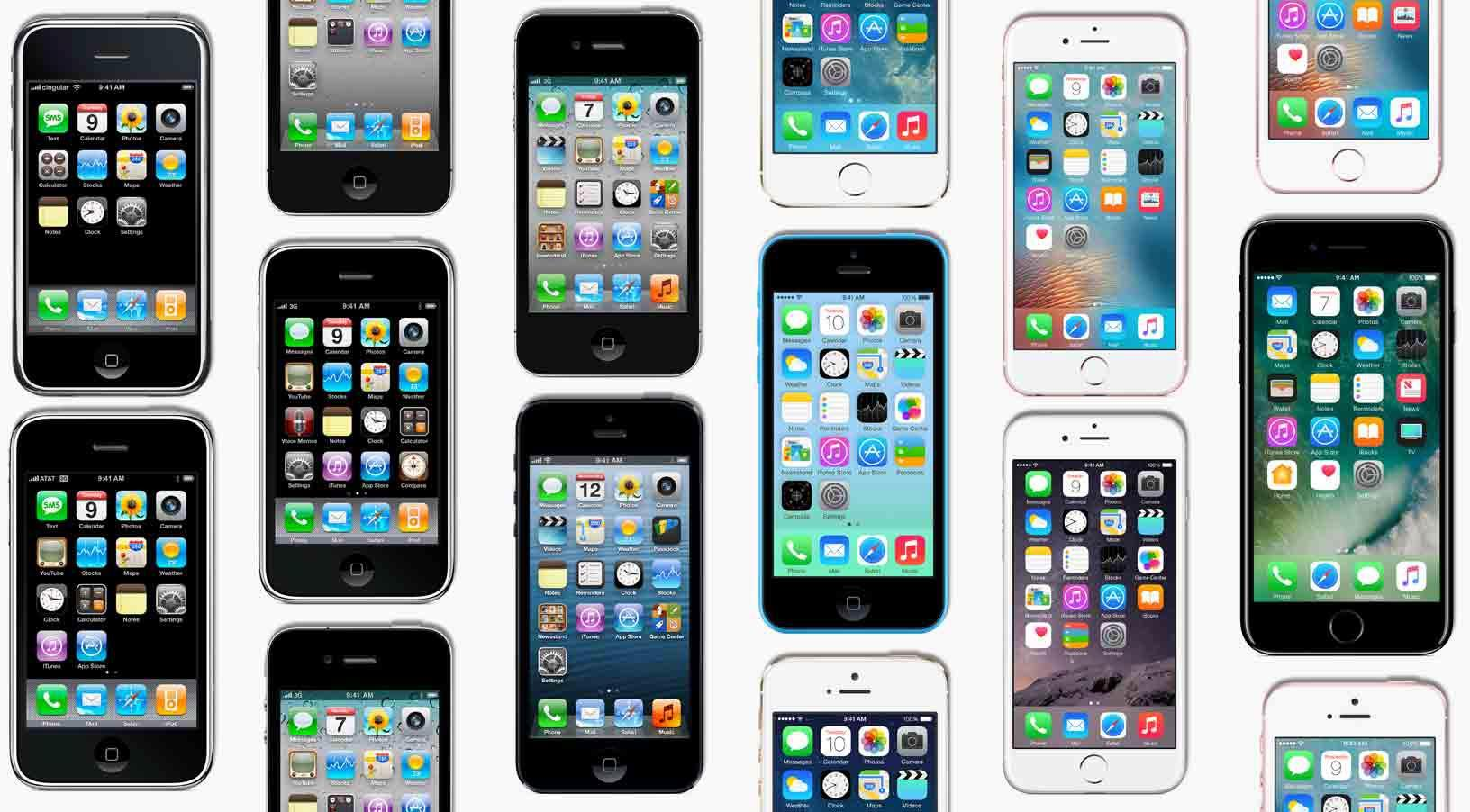 Apple  أصدرت 11 نماذج من iPhone على مر السنين