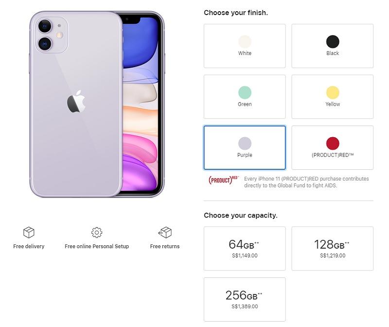 فيما يلي جميع نقاط سعر أجهزة iPhone 11 و 11 Pro و 11 Pro Max 3