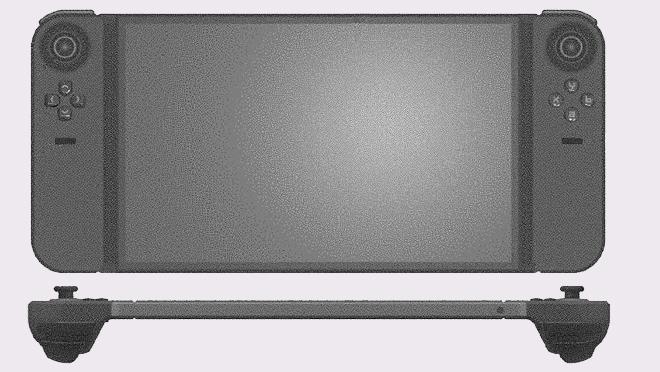الماسح براءات الاختراع gamepad المحمول الذي يشبه Nintendo Switch 3