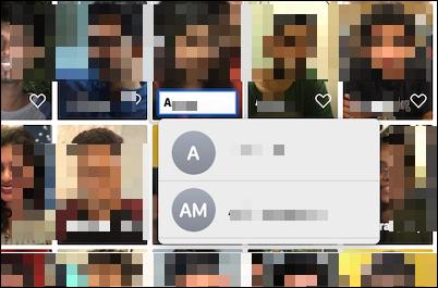 اختصار سريع لإضافة اسم إلى وجه في تطبيق الصور على Mac