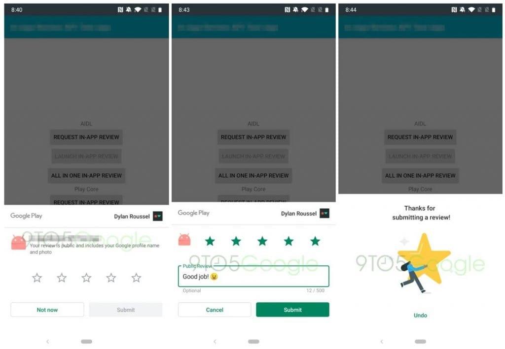 يغير Google Play تقييماتك: لن يكون من الضروري الخروج من التطبيق 1