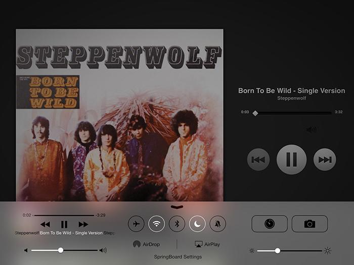 أفضل تعديلات لتطبيق iOS 7 Music 7