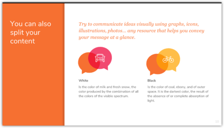قالب تصميم العرض التقديمي الحرة لاجتماعات الأعمال