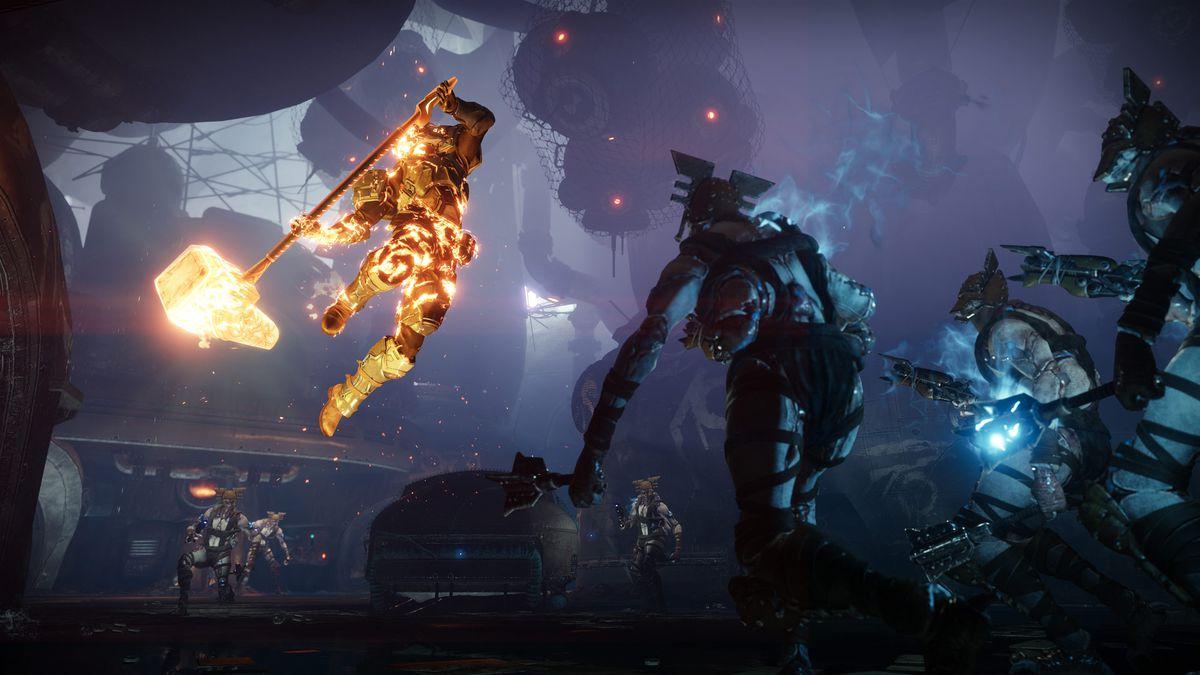 القدر 2: Forsaken - Titan يطلق العنان لهجوم عظمى على الأعداء