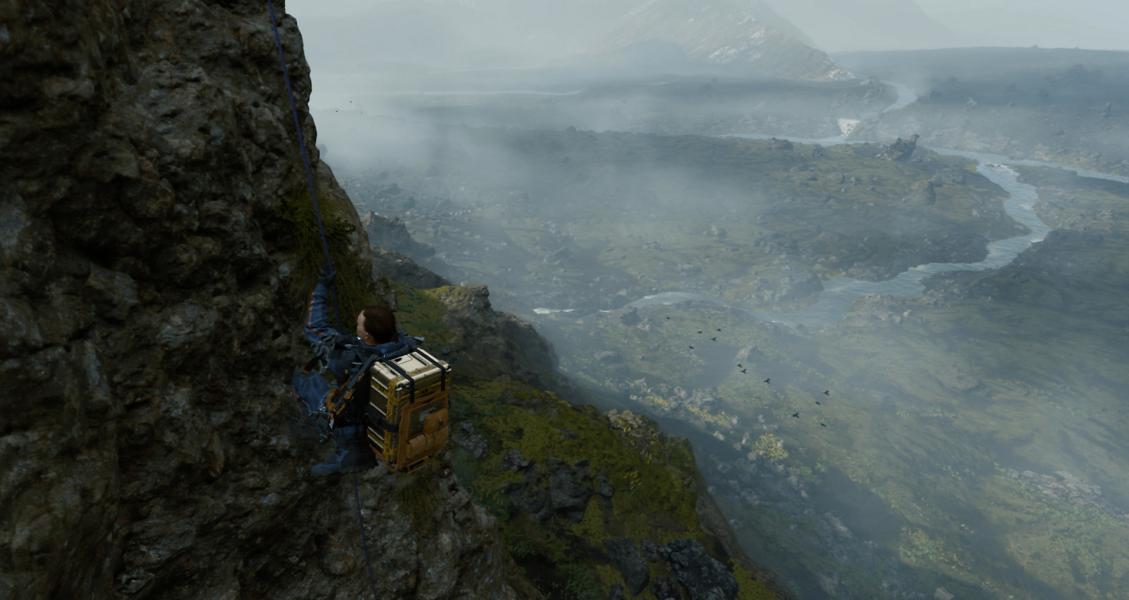 Death Stranding gameplay screenshot 3